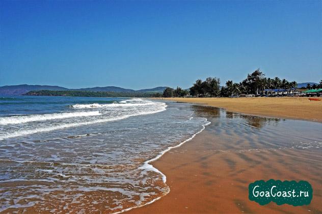 Агонда Гоа, пляжи Агонда Гоа Индия