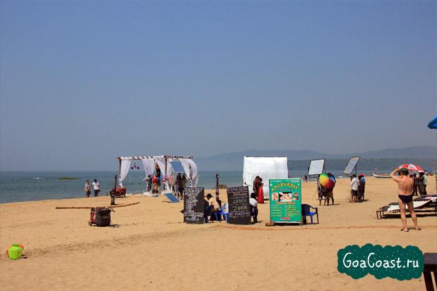 пляж Агонда Индия