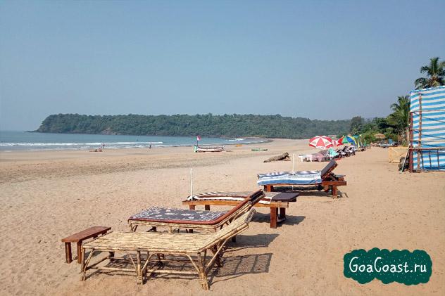 отели пляжа Агонда