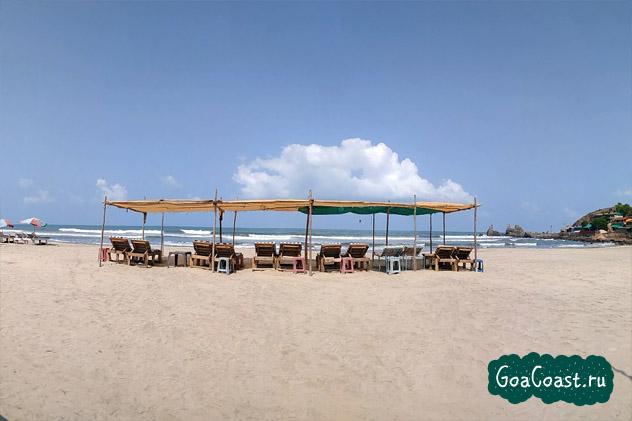 пляж Арамболь Гоа, жилье в Арамболе