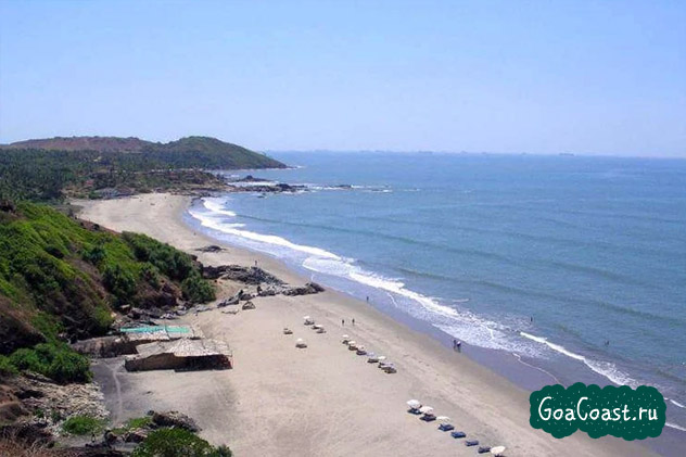 отдых пляж Палолем Индия