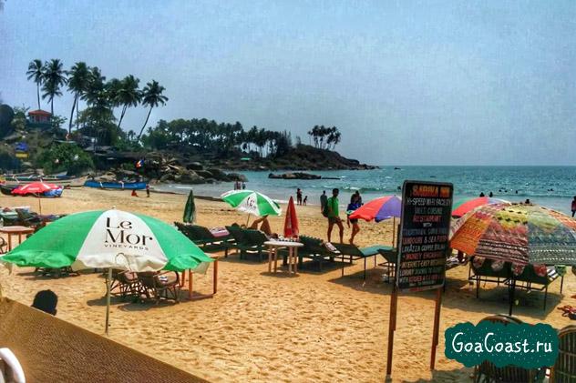 пляж Палолем отзывы туристов