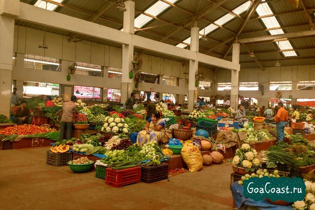 цены на продукты в магазинах Гоа