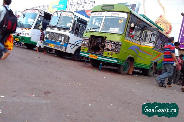 популярные виды транспорта в Индии Гоа